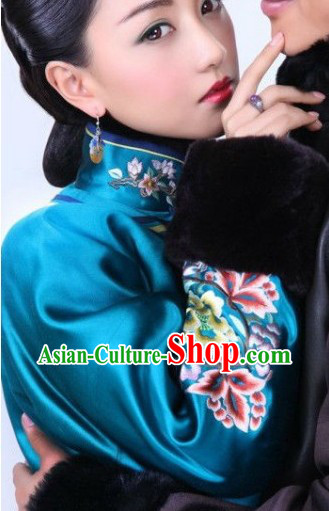 Qing Dynasty Imperial Palace Empress Outfit for Women