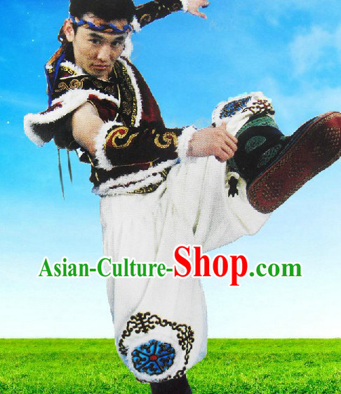 Shuai Jiao Chinese Wrestling Uniforms Complete Set for Men