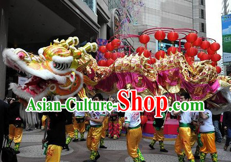 Supreme Chinese New Year Parade Celebration Dragon Dance Costumes Complete Set