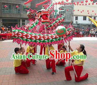 Celebration Parade and Competition Dragon Dance Costumes Complete Set