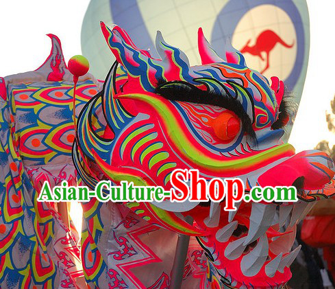 Southern Style Illuminated Dragon Dance Costumes Complete Set