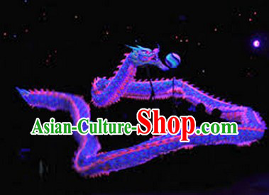Competition and Parade Illuminated Dragon Dance Costumes Complete Set for 7-8 People