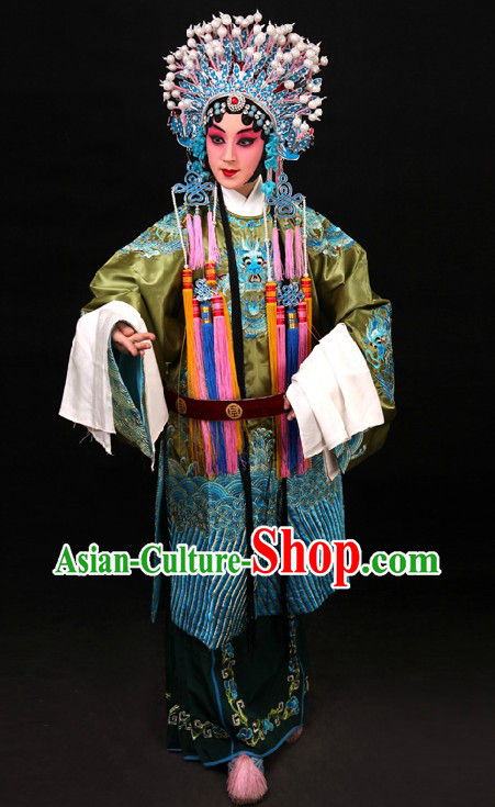 Traditional China Peking Opera Lao Dan Costumes
