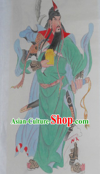 Chinese Traditional Yue Fei Painting