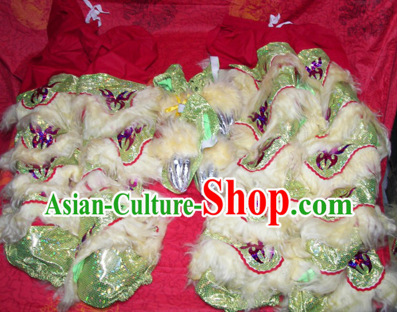 Supreme Two Pairs of Lion Dance Pants and Claws Covers