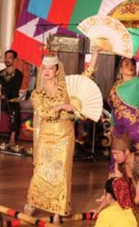 Philippine Wedding Singkil Clothing and Hat Complete Set
