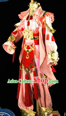 Top Three Kingdoms Princess Cosplay Costumes and Accessories Complete Set