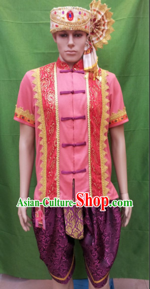 Southeast Asia Traditional Wedding Clothing for Men