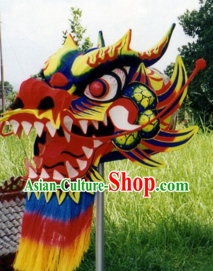 Top Chinese Glow in Dark Dragon Dance Costumes Complete Set