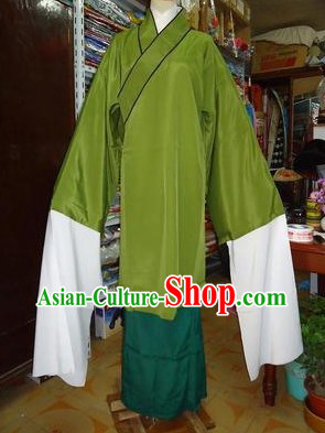 Traditional Chinese Beijing Opera Long Sleeves Lao Dan Mother-in-law Costumes