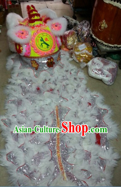 Top Luminous Friendly Hok San Lion Dance Costumes Complete Set
