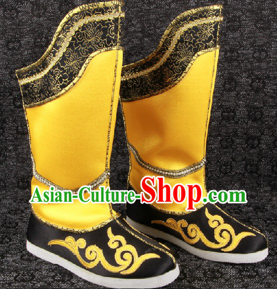 Ancient Chinese Style Handmade Emperor Hanfu Boots