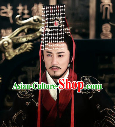 Ancient Chinese Imperial Emperor Crown