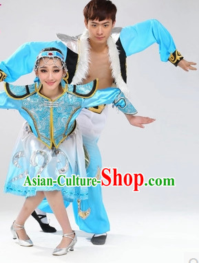 Stage Performance Ethnic Dancing Costumes for Men or Women