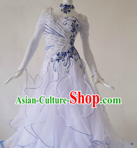 Top Professional Waltz Female Dance Costumes