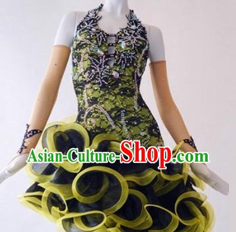 Top Competition Latin Dancing Costumes