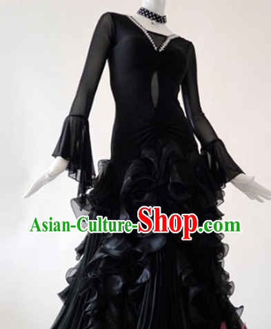 Top Competition Social Ballroom Dancing Costumes