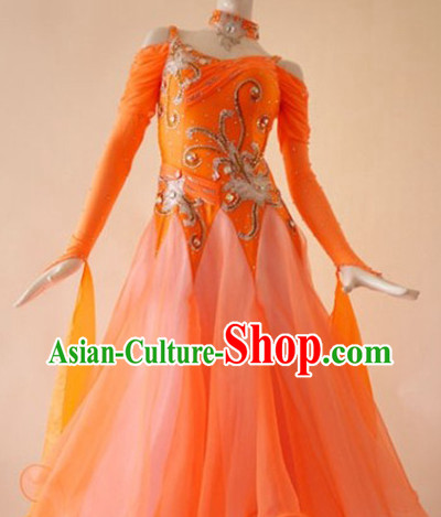 Professional Competition Latin Dance Costumes Suit