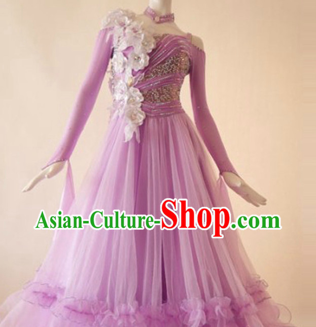 Professional Custom International Competition Dance Skirt