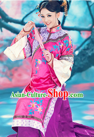 Summer Wear Qing Dynasty Royal Family Wife Clothes