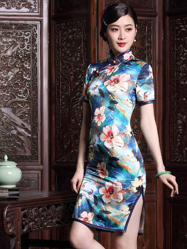 Mandarin Tang Suits for Women