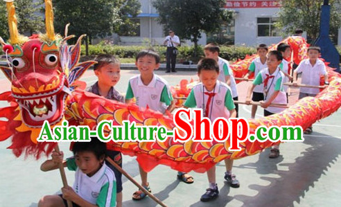 Chinese New Year Festival Celebration Dragon Costume Complete Set for 10 Kids