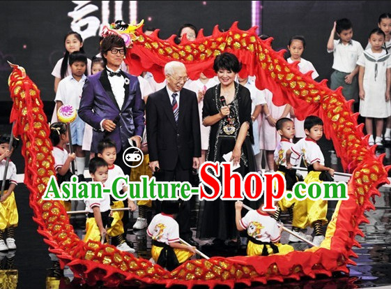 Chinese New Year Dragon Parade Costume Complete Set for Kindergarten Kids