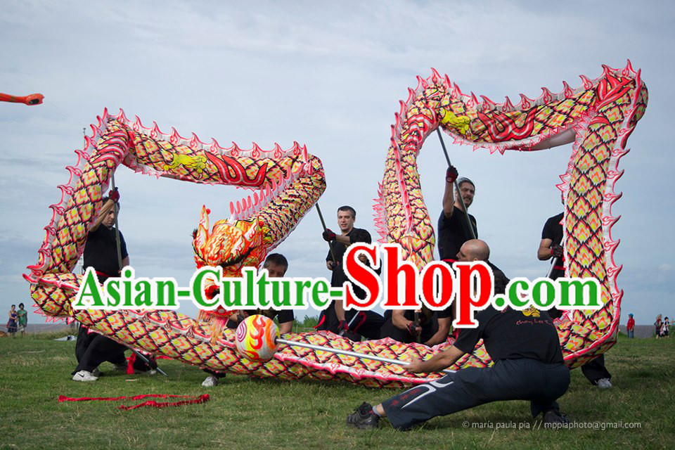 Top Quality Luminous Dragon Dance Equipments Complete Set