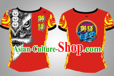 Chinese Dragon and Lion Dancer Suits