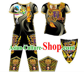 Chinese New Year Dragon and Lion Dancer Suits
