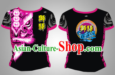 Chinese New Year Singpore Dragon and Lion Dancer Clothing