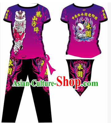 Chinese Dragon and Lion Dancer Dress