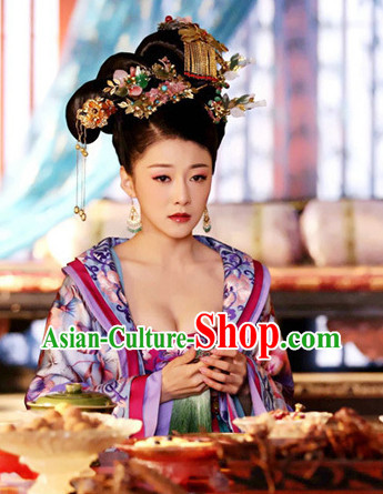 Chinese Traditional Empress Wig and Hair Accessories online Shop