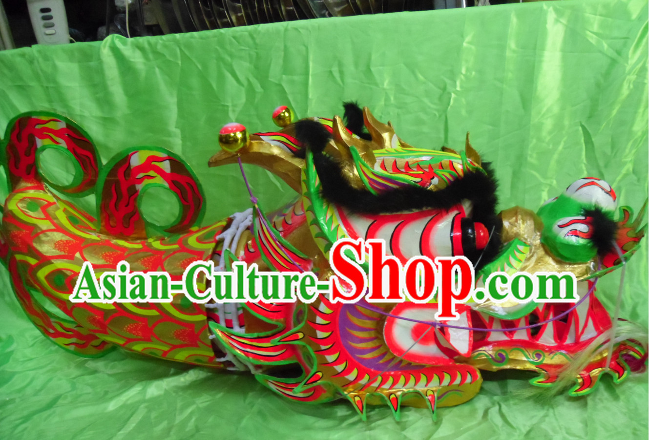 World Glow in the Dark Dragon Dance Championship Costumes Complete Set