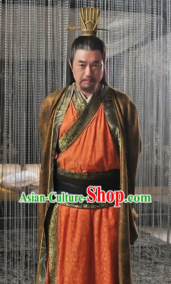 Three Kingdoms Ancient Cao Cao Costumes and Hat