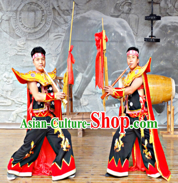 China Hmong Miao Minority Ethnic Clothing for Men