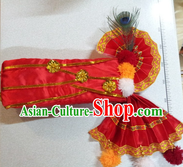 Traditional Asian Thailand Peacock Hat for Men