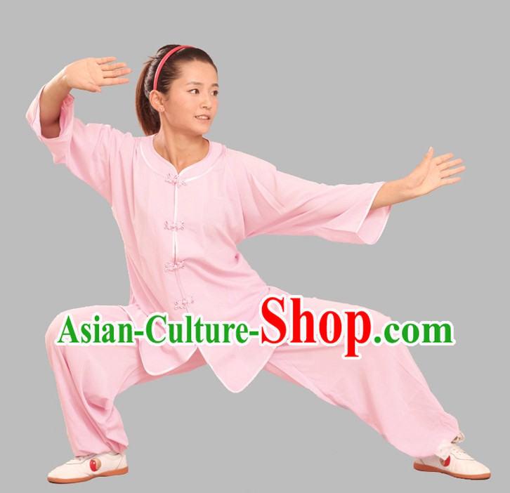 Top Tencel Kung Fu Clothing Complete Set for Adults or Kids