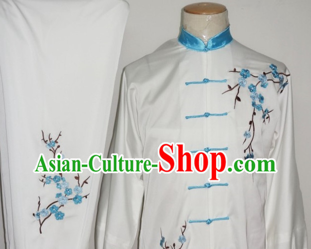 Kung Fu Dragon Embroidery Suit Training Kung Fu Costume Kung Fu Classes Dresses