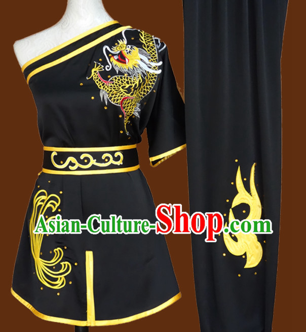 China Classical Wing Chun Kung Fu Wooden Dummy Practice Clothes