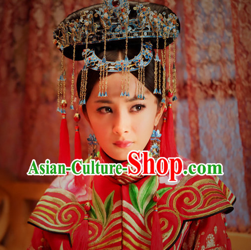 Top Chinese Empress Bridal Hair Accessories Bridal Headpieces Bridal Hair Combs Bridal Jewellery