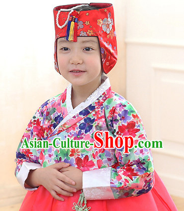 Korean Traditional Hat for Kids