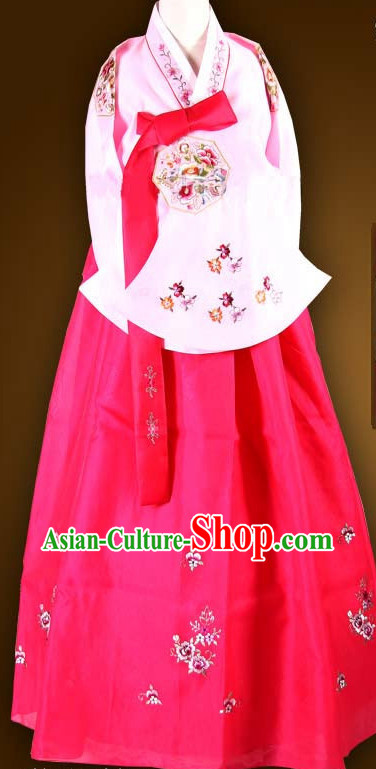 Traditional Ceremony Dress Custom Made Dangui Korean Royal Costumes for Women