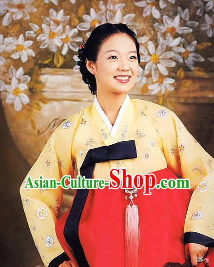 Korean Traditional Mother Wedding Dress Asian Fashion Korean Dangui Outfit Shopping online