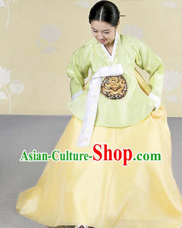 0dda2affb Korean Hanbok Traditional Korea Clothing Wedding Dress Birthday ...