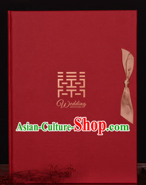 Chinese Traditional Wedding Guest Signatures Cloth