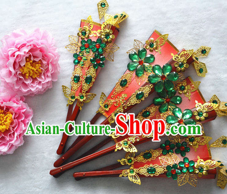 Chinese Traditional Handmade Princess Dance Fan