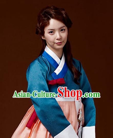 0f8543e2584 Korean Traditional Clothing Ladies Plus Size Dress Fashion Clothes Complete  Set