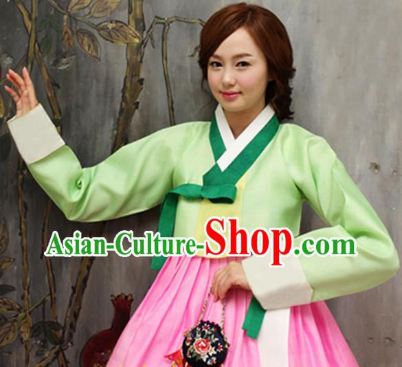 01bd4fa3184 Korean Traditional Clothing Female Plus Size Dress Fashion Clothes Complete  Set