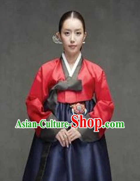 Korean Traditional Dresses Imperial Female Plus Size Dress Fashion